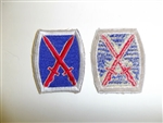 b0083 US Army 1950's shoulder patch 10th Infantry Division PDA2
