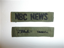 c0072 Vietnam NBC News tape for Fatigues Utilities Utilites OD R10C
