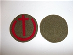 b0707  WW 2 Japan Japanese Army Paratrooper school Patch R17C