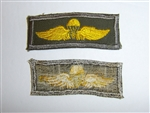 b0792 USMC US Vietnam Paratrooper Patch Jump wings for Utility Cover R5D