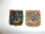 b1927 Vietnam RVN 8th Marine Corps Battalion TQLC Patch O-Bien Sea Hawk IR11C