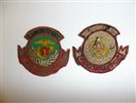 b1930 RVN Vietnam Marine Corps 1st Model Pocket Patch Danh-Du To-Quoc TQLC IR11C