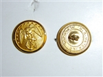 b2432s WW2 USMC US Marine Button 1930's-50s Dress button Large Gold single B2D13