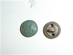 b2440s WW 2 Soviet Russian small green button single B2D20