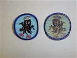 b0109 WW2 Korea US Navy UDT One patch IR33G