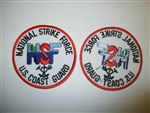 b2646 National Strike Force NSF US Coast Guard Patch 1980's -90's IR25C