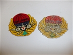 b2968 Civilian US patch Smoke Jumpers Firefighter R12A