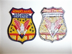 b3020 WW2 US Civilian WAND Women's Army National Defense shoulder patch R12A