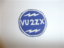 c0410  WW 2 US Army Far East VU2ZX radio patch Correspondent R9E