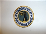 b3995 WW 2 Civilian Aviation patch Condor Field Twenty nine Palms 29 R12A