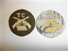 b5202s 1920's US Army TC Tank Corps early Armored Infantry patch single IR30E