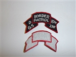 b5251 1980's US Army Border Patrol D Company 15th Infantry IR18D