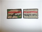 b0659 Afghanistan Warphotographer patch IR18A