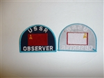 b6638 Soviet USSR  Observer sleeve patch (ONLY)  NATO visits IR1E