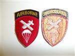 b0148 WW 2 US Army Airborne Command patch PIR Parachute Paratrooper R3C