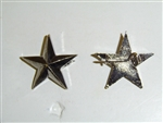 0637s WWII WW 2 US Army Style General Star pin back single C12A9