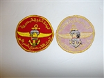b8595 Iraq Marines Airborne sleeve patch with Arab script IR18B
