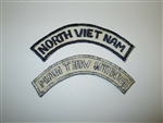 b8658 US Vietnam Air Force North Vietnam tab Flight Suit IR20C