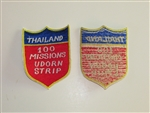 b8232 Vietnam US Air Force Novelty Thailand 100 Mission Udorn Air Base IR20A