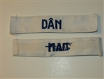b8453 RVN South Vietnam Navy Name Tape DAN IR9A
