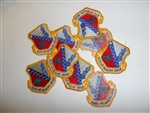 b8890 US Air Force 1960's-70's 160th Air Refueling Group lot of 10 patches IR20D