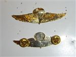 b0764 USMC US Vietnam-Current Metal Parachute Jump Airborne Wings R5D
