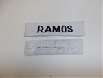 e0699 Vietnam Philippine Army Filipino Civil Action Group Ramos Name Tape R9D