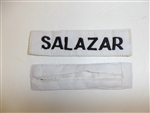 e0700 Vietnam Philippine Army Filipino Civil Action Group Salazar Name Tape R9D