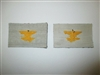 e0149p WW2 Chinese Air Force KMT Aviation Branch Insignia Pair China IR17F
