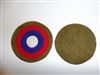 e1280 WW1 US Army Aviation red white blue round OD wool Infantry Division IR30G