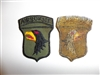 e1804 US Army Vietnam 101st Airborne Infantry Division black eagle patch IR14T