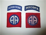 e0307 US Army Vietnam Original Patch and Tab 82nd Airborne Division IR14E