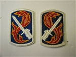 e0370 US Army Vietnam 198th Infantry Brigade Patch IR14D