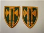 e0381 US Army Vietnam 18th Military Police Brigade Patch IR14D