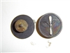 2079 WW 1 US Army EM Collar Disks Aviation Wing with Silver Prop and US IR30A8