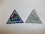 b2967 WW 2 US Civilian patch Pacific Air School LTD R12A