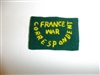 c0404  WW 2 France Civilian War Correspondent patch R9E