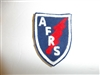 c0409  WW 2 Armed Forces Radio Service  A.F.R.S. patch AFRS R9E