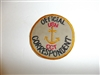 c0413  WW 2 Official U.S. Navy C.C.T. Correspondent patch CCT USN R9E