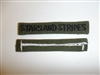 c0426 Vietnam Era US Army Stars and Stripes Tab OD Subdued R9E
