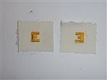 b3713 Vietnam US Navy Distinguishing Mark E Excellence White Yellow IR33D