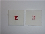 b3714 Vietnam US Navy Distinguishing Mark E Excellence White Red IR33D