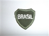 b3634 WW 2 Brazil Army Expeditionary Force Brasil Officer 1st model patch IR17C
