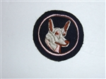 b3739 Canada Canadian Dog Handler Patch IR17A