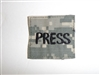 c0431 Afghanistan PRESS patch US Civilian Army ACU Digital Camo R9E
