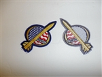 b4168 US Patriot missile patch Gulf War Desert Storm Shield IR18A