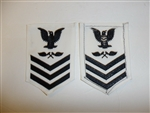 b6081 US Navy Rate Aviation Metalsmith 1st class white IR34C