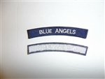 b6610 US Navy Blue Angels Demonstration Team Naval Air Training tab IR19B
