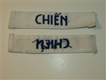 b8454 RVN South Vietnam Navy Name Tape Chien IR9A