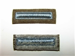 b9426-1 WW2 US Army Long Overseas Bars Blue 1 Bar 6 Months R2E